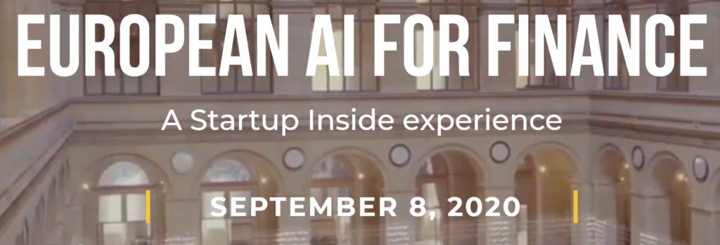 EUROPEAN AI FOR finance