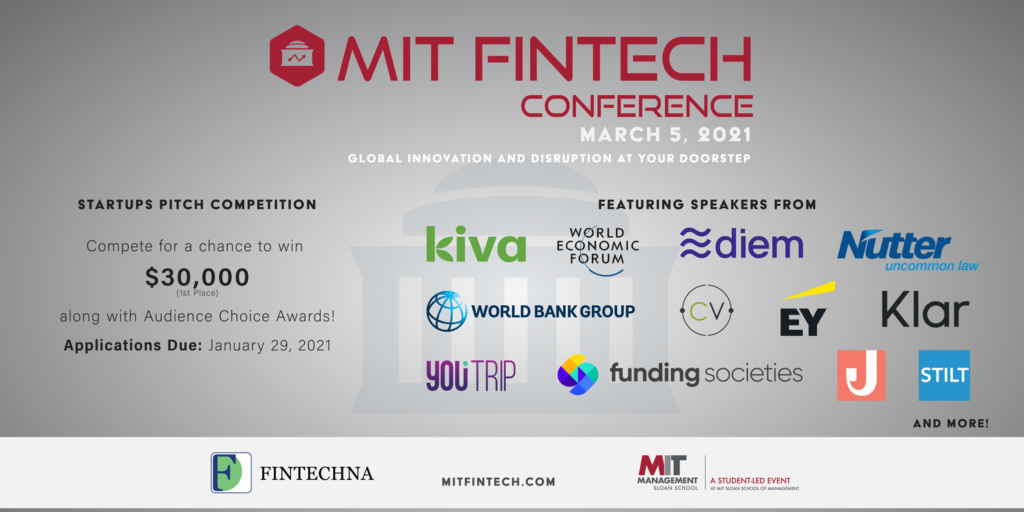 MIT FinTech Conference 2021