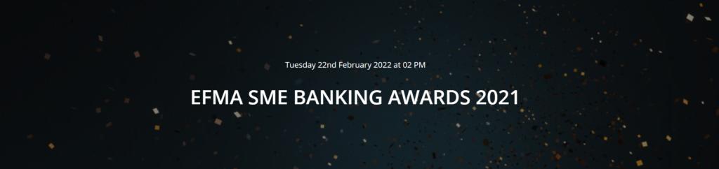 EFMA SME BANKING AWARDS 2021
