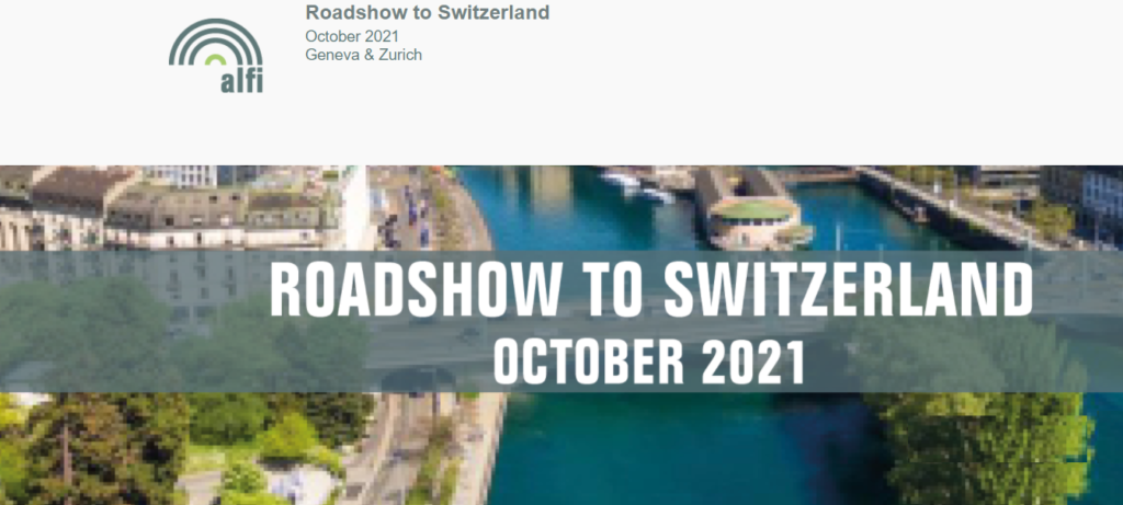ALFI Roadshow to Switzerland