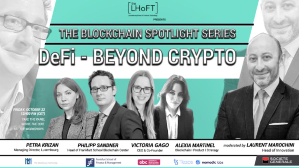 The Blockchain Spotlight: DeFI – Beyond Crypto